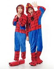 Halloween Cheap Costume  Spider Man Pajamas Outfit Nonopnd Nightclothes Onesies