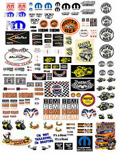 1:24 & 1:18 HEMI, & MOPAR DIECAST, MODEL CARS OR DIORAMA DECALS
