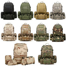 50L Molle Tactical Outdoor Assault Military Rucksacks Backpack Camping bag