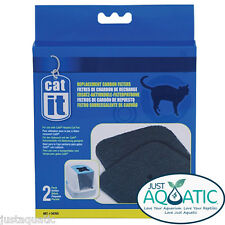 FREE SHIP DELUXE CARTRIDGES + COMBO PACK for CATIT SMARTSIFT Hooded Cat Pans NEW