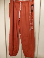 4804 WOMENS NFL Apparel SAN FRANCISCO 49ERS Long Jersey Sweatpants NEW RED