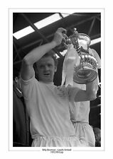 1972 FA CUP LEEDS UNITED BILLY BREMNER PHOTO PRINT A4 or 16 x 12  LEEDS UTD