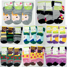 """3 Pairs Kids Girls Boys Cotton Socks """"Skin contact surface is 100% cotton"""""""