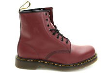Doc Martens DM's 1460 Classic Airwair Red Leather Boots Size UK 7 8 9 10 11 12