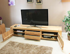 Solid Oak Luxury TV Cabinets - All Styles, Sizes and Designs Available