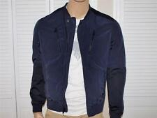 ARMANI EXCHANGE AX Zippered Bomber Jacket Navy NWT