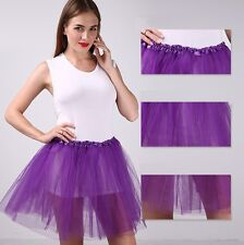 Women/Adult Tulle Organza Dancewear Tutu Ballet Pettiskirt Princess Party Skirt