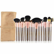 20pcs Goat Hair Makeup Brush Set Cosmetic Brushes Make up Kit + Pouch Bag