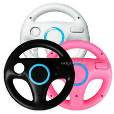 1x Steering Wheel for Wii Mario Kart Racing Game Remote Controller 3 colors BEW
