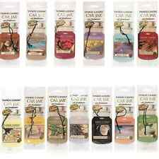 Official Yankee Candle - Scented Car Air Freshener Gift - Yankee Single Car Jar