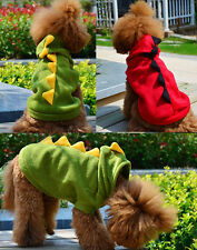 Pet Dog Cute Dinosaur Jumper Clothes Sweater Appreal Puppy Knit Apparel 2 Colors