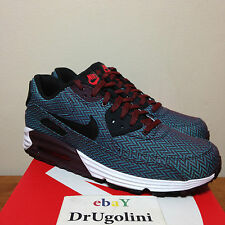 Nike Air Max Lunar 90 PRM QS 8-13 black blue Suit and Tie herringbone -SHIPS NOW