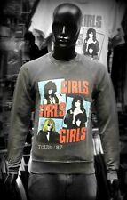 AMPLIFIED Official Uni-Sex Sweatshirt Various Sizes MOTLEY CRUE GIRLS