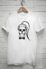 Lady gaga skull T shirt born this way Little Monsters Artpop Ball tshirt Z188