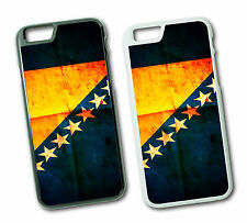 iPhone 6 / 6 Plus Bosnien Bosnia Sarajevo Fahne Flagge Cover Case Hülle Schale 1