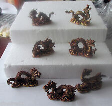 Set of 7 Chinese Dragon World Figures mythical creature