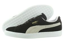 Puma Suede Classic + 35263403 Black White Casual Low Shoes Medium (D, M) Men