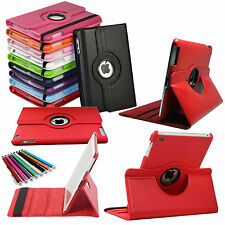 Smart 360° Rotating Leather Stand Case Cover For Apple iPad 2 iPad 3 & iPad 4 UK