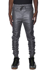 Harem Rich Kids Harlem Dance Refuel Faux Leather Fashion Apparel Jogger Pants