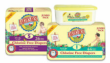 Earth's Best Diapers & Wipes Size 1, 2, 3, 4, 5, 6 YOU pick CHEAP!!!