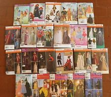 Simplicity NEW Costume Patterns Adult Kids Halloween Renaissance Fantasy Theatre
