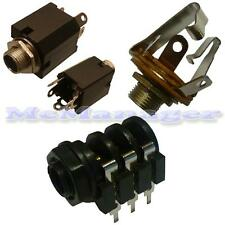 6.3mm Mono,Stereo PCB, Chassis Jack Socket (Switch)