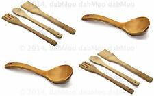 Bamboo Wooden Kitchen Tools Utensils Cooking Set Spatula Spoon Turner Stir fry