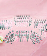 88 Pc Flatware Set Forks Spoons Knives Utensils Service for 12 Silverware Choice