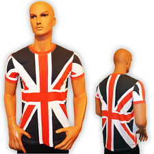 Classic Union Jack T shirt 100 % Cotton Tour Collection Union Jack UK Flag