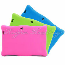 "Pink Android Tablet Case for 7"" Kids Children Child Boy Dual Core Blue Green"