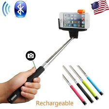 Bluetooth Shutter Extendable Handheld Selfie Stick Monopod for Samsung iPhone 6