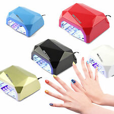 36W UV LED Lamp Dryer Machine Polish Tools Pro Salon Nail Art Gel Curing Cur