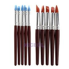 5 Pcs Pottery Clay Sculpture Carving Tools Art Craft Ceramics Supplies