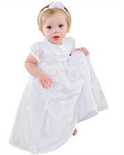 Violet Lace Christening - Baptism - Blessing Gowns