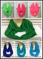 INFINITY SCARF STYLE T SHIRT MATERIAL NEON COLORS