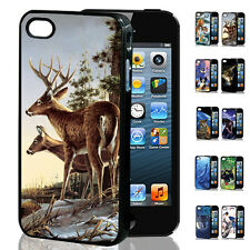 CLEARANCE CHEAP 100% New 3D Animal Snap Back Skin Case Cover For iPhone 4/4S NZT