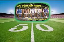NFL CEDAR SPORT BIRD FEEDERS by Sporty Crafts