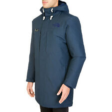 The North Face Himalayan Long Parka Mens Jacket Navy All Sizes