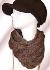 TRENDY Women's Loop Scarf 350545 Loose Knitted Fluffy Warm