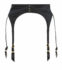 AGENT PROVOCATEUR JENA SUSPENDER BLACK SMALL / MED / LARGE RRP £110 BNWT