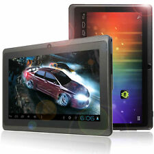 "Quad Core 7"" A33 Android 4.4 Dual Camera Tablet Flashlight WIFI PC Playstore"
