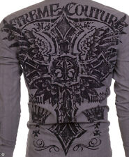 Xtreme Couture AFFLICTION Mens BUTTON DOWN Shirt HEAVY Roar UFC BKE M-XXL $78