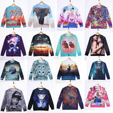 Mens/Womens Sweater Sweatshirt Casual Hoodie Pullover Cool 3D Pattern Outwear
