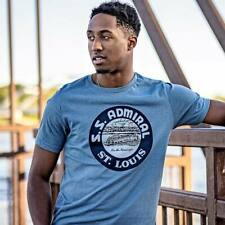 SS Admiral T-shirt - Bygone Brand St. Louis Retro Tees