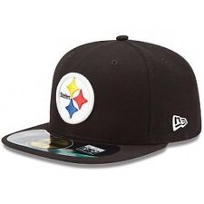 Pittsburgh Steelers On-Field 59Fifty Black Fitted sideline Hat
