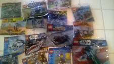 Lego Polybags You pick! Star Wars Marvel DC  Castle City and More!