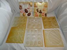 NEW VINTAGE WILTON EASTER VARIETY  CANDY MOLDS, U PIC FROM 8 DIFFERENT ONES