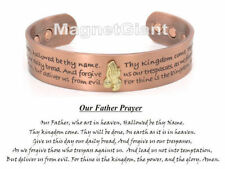 ** Hot Item ** Praying hands magnetic solid copper bangle bracelet cuff jewelry