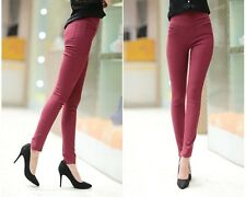 New Casual Women Skinny Stretchy Sexy Thin Pants Soft Pencil Tights Leggings