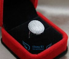 BELLA'S WEDDING RING ENGAGEMENT JEWELRY BIRTHDAY WOMEN CHRISTMAS GIFT 925 SILVER
